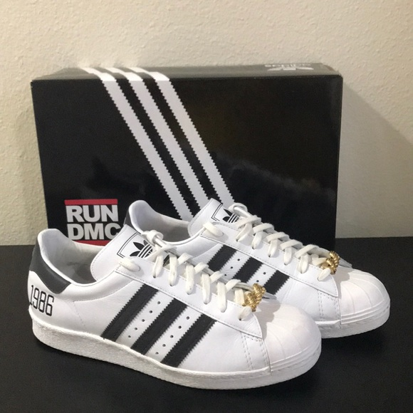 Adidas RUN DMC JMJ Adidas Superstar Size 9.5